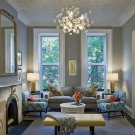 dove grey living room