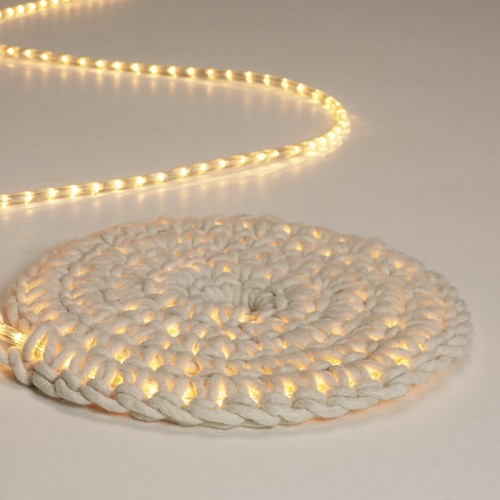 Light Carpet by Johanna Hyrkas, for Imu Design.  Via Chic Tip