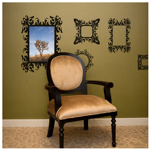 Antique frames decal