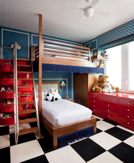 http://www.myhomerocks.com/wp-content/uploads/2012/03/14b-blue-red-black-white-checkerboard-floor-kids-room-childs-bedroom-boys-girls-unisex.jpg