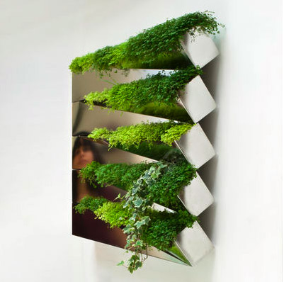 Indoor Herb Gardens and Salad Walls My Home Rocks