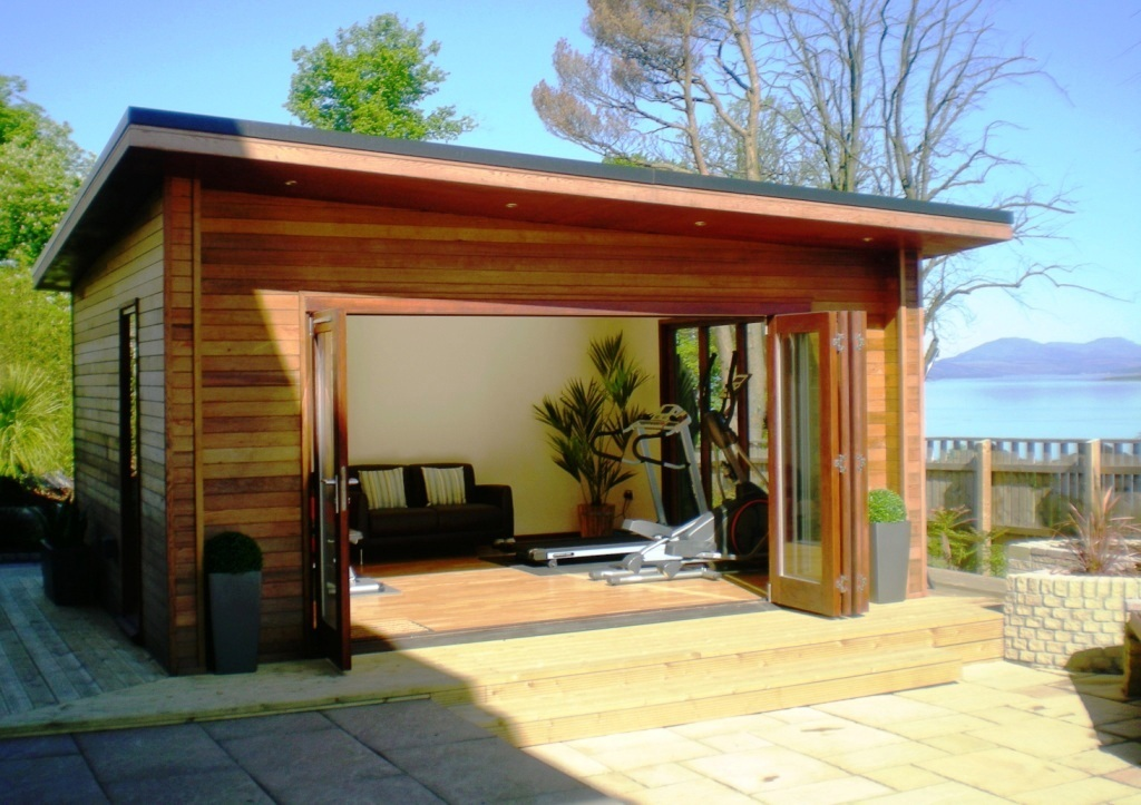 Backyard Gym Building : Garden Rooms & Outdoor Offices  My Home Rocks