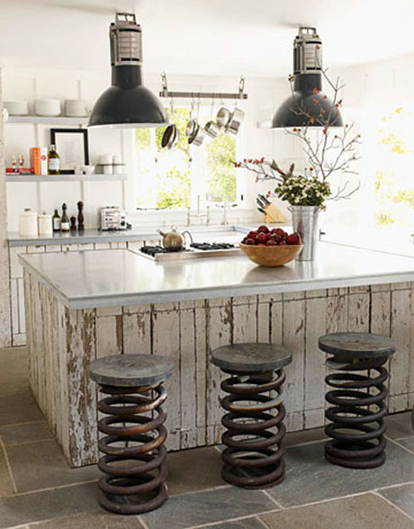 Industrial style kitchens my home rocks for Looking for kitchen