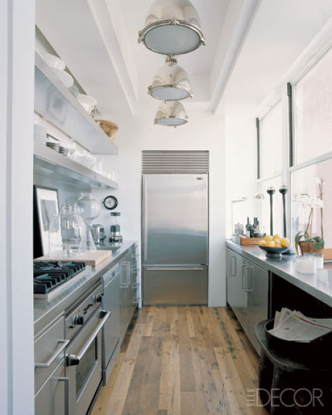 Steel Galley Kitchen Design Stainless Steel Galley Kitchen Designjpg