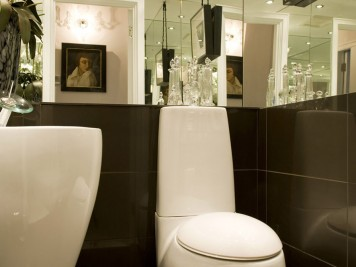 Contemporary cloakroom