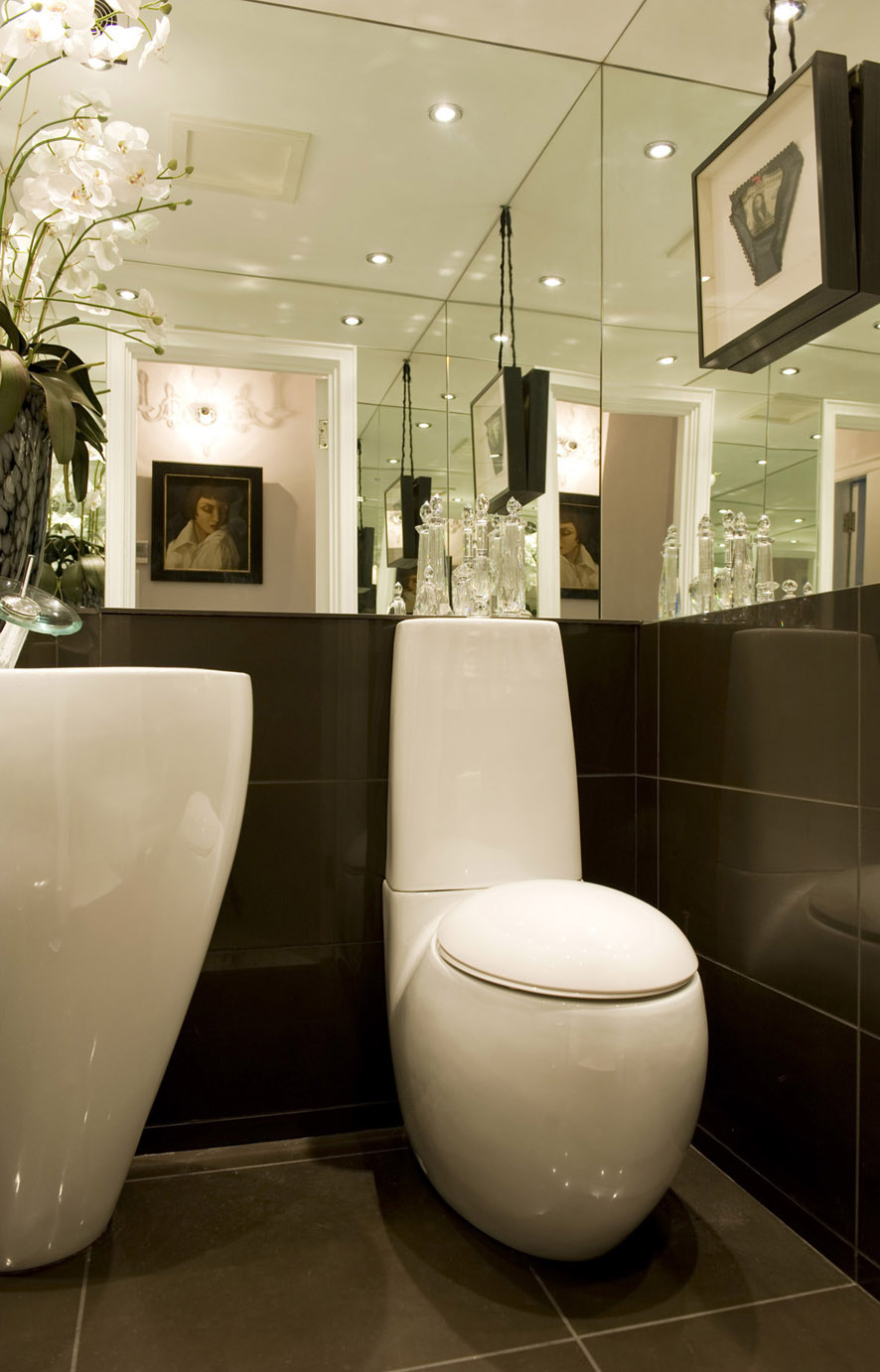 Contemporary Cloakroom My Home Rocks