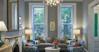 dove grey living room