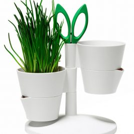 Indoor Herb garden norman copenhagen White kitchen accessories