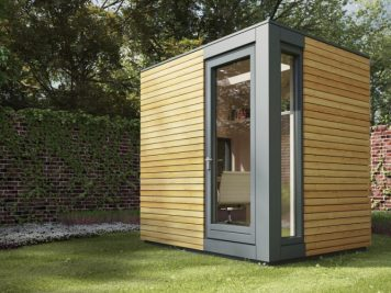 Garden pod office space studio