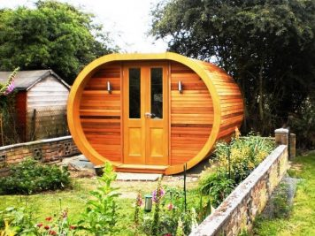 myPod contemporary garden pod room