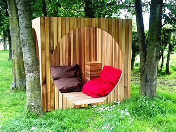 The Cube Outdoor Enclosure Shelter Summerhouse