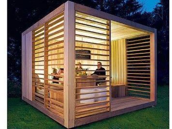Garden studio room modern summerhouse