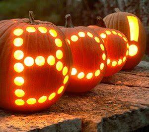 Typographic halloween pumpkin