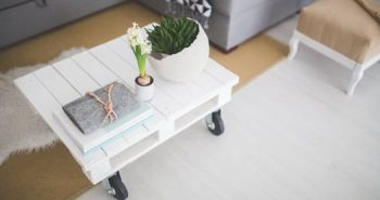 natural interior elements pallet table