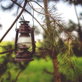 Vintage Garden Lamp